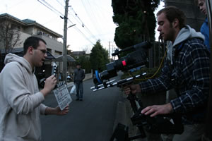 the filming of Jitensha