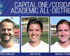 Three Soccer Players Earn Academic Award