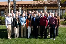 Board of Trustees in the Olive Grove at Biola