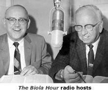 The Biola Hour radio hosts