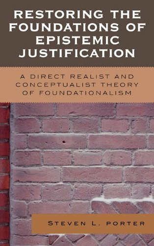 Restoring the foundations of epistemic justificati