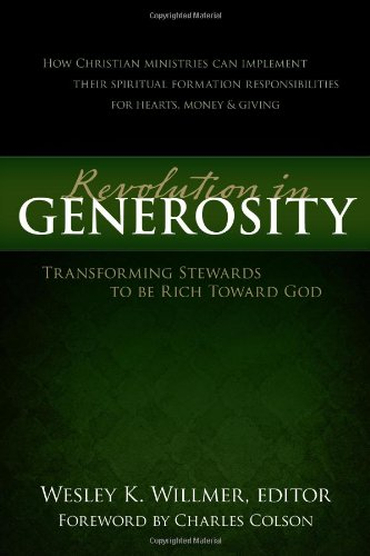 A revolution in generosity transforming stewards t