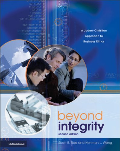 Beyond integrity a judeo christian approach to bus