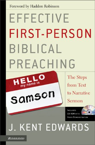 Effective first person biblical preaching the step