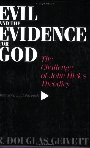 Evil and the evidence for god the challenge of joh