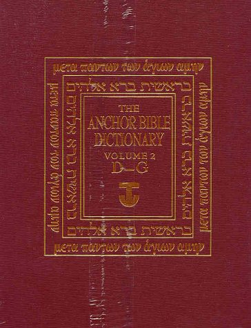 The anchor bible dictionary 6 volume set