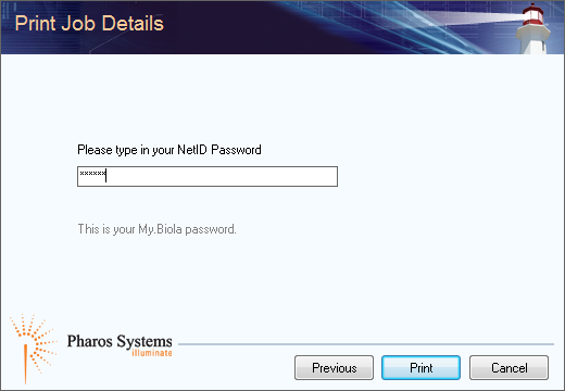 "Enter your NetID password in the second window and click ""Okay."""