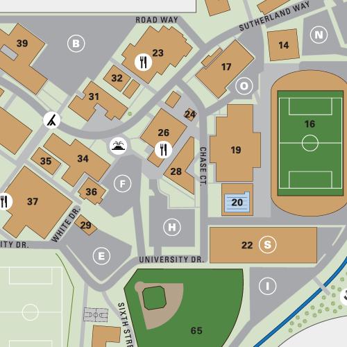 Talbot Campus Map Biola University Interactive Campus Map